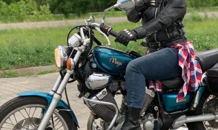 Mój sezon motocyklowy 2020 został otwarty.